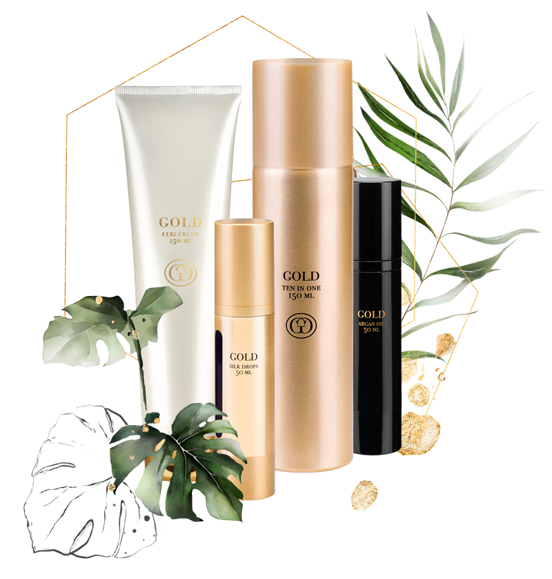 Veganes Styling von GOLD professional Haircare